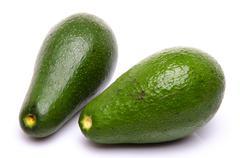 Two avocado - stock photo