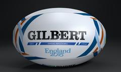 GilbertRWC2015Ball - 3D model
