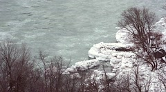 Whirlpool  NiagaraFalls Winter 24svv - stock footage