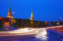 Moscow Kremlim. Stock Photos