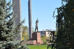 Monument to the first cosmonaut Yuri Gagarin Kuvituskuvat