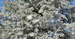 Christmas and New Year time in Monaco. - stock footage