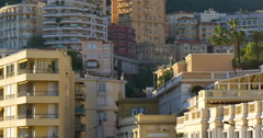 Monaco, officially the Principality of Monaco - stock footage