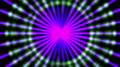 4k microwave halo pattern,neon lights science future radiation energy scan data Stock Footage