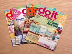 Do It Yourself magazines - stock photo