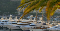 Principality of Monaco is a sovereign city-state and microstate - stock footage