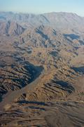 Aerial View of Egyptian Mountains Stock Photos