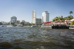 Cairo City Skyline - stock photo