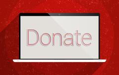 Donate Stock Illustration