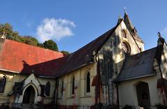 St Andrew Church - stock photo