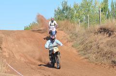 Stock Photo of Motocross Junior Championships