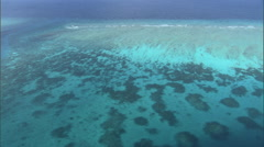Aerial shot of Islands of Maldives. Stock Footage