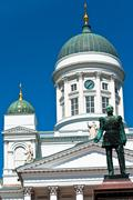 Helsinki. Lutheran Cathedral. - stock photo
