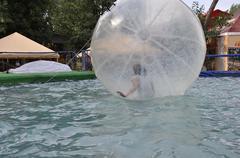 Stock Photo of Children water attraction