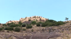 Amphitheater Assos, Turkey Stock Footage