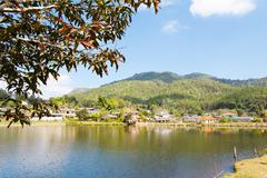 Ban Rak Thai (the Thai-loving village) - stock photo