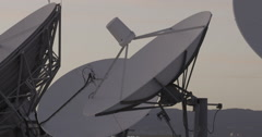 Stock Video Footage of BROADCAST ANTENNAS