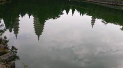In Chongshen Buddhist monastery. Dali. China. Stock Footage