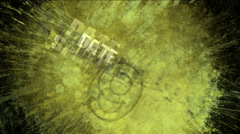 4k abstract pop art noise explosion background,splash number&word paint traces. Stock Footage