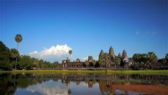 Angkor Wat - stock footage