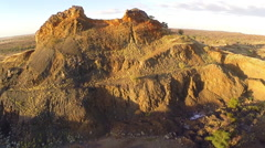 Cloncurry Rock Formations Stock Footage
