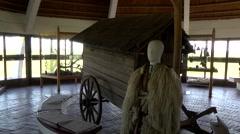 BUGAC PUSZTA SHEPHERD MUSEUM, KISKUNSAG NATIONAL PARK, HUNGARY 3 Stock Footage