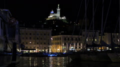 Marseille cityscape Stock Footage
