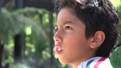 Hispanic Boy, Latino, Child - stock footage
