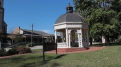 Daniel Pavilion at Brenau University Stock Footage