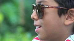Sunglasses, Shades, Glasses, Eyewear - stock footage