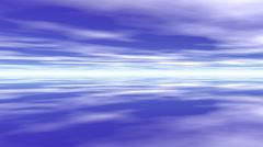 Clouds blue sky Stock Footage