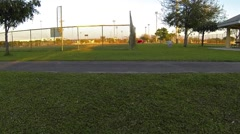 Tamiami Baseball Fields Cilp 7 Stock Footage