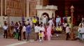 Delhi's Jama Masjid mosque Footage
