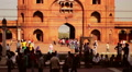 Delhi's Jama Masjid mosque HD Footage