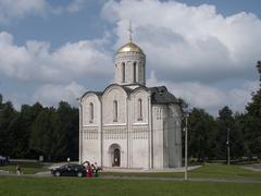 Medieval Church in Vladimir - stock photo