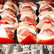 Barbecue preparation - stock photo