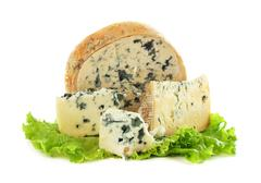 Roquefort cheese Stock Photos