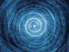 Stock Illustration of Spiral Background.