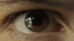 open your eyes - stock footage