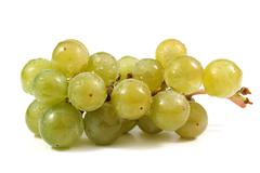 Cluster of wine grapes Stock Photos
