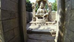 Narasimha monument Stock Footage