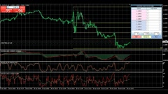 Trading on the currency market, the Euro-Dollar Stock Footage