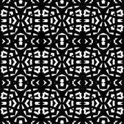 Black - white seamless pattern - stock illustration