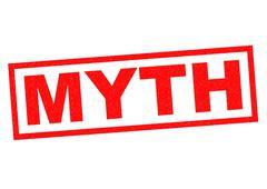 Stock Illustration of MYTH Rubber Stamp