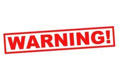 WARNING! Stock Illustration