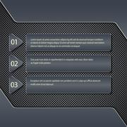 Modern vector infographic on speaker grill texture . Can be used for web design - stock illustration