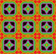 Seamless fractal pattern Stock Illustration