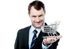 Take your business to e-commerce level - stock photo