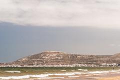 The Casbah at summer day, Agadir, Morocco Stock Photos