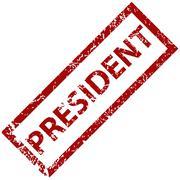 President rubber stamp Stock Illustration